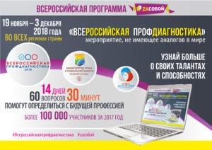 Всероссийская профдиагностика 2018